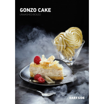 Купить табак «Darkside Gonzo Cake» в Геленджике